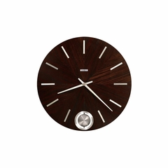 Bowman Espresso Gallery Wall Clock - Howard Miller