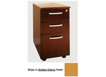 Box-Box-File Mobile Pedestals in Golden Cherry - Mayline Office Furniture - VBBFGCH
