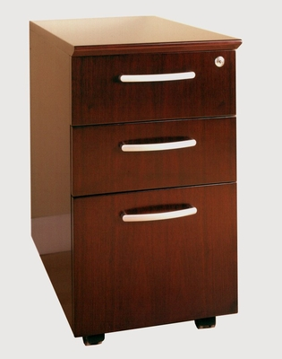 Box-Box-File Mobile Pedestals in Sierra Cherry - Mayline Office Furniture - VBBFCRY