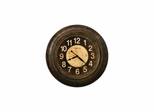 Bozeman Round Gallery Wall Clock - Howard Miller