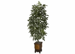Bracken Fern with Decorative Vase Silk Plant - Nearly Natural - 6716