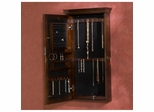 Bradley Wall Mount Jewelry Armoire in Espresso - Holly and Martin