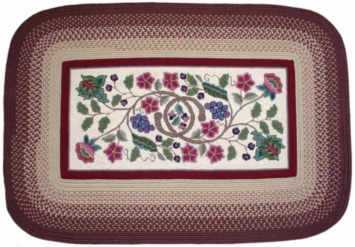 Braided Hook Collection 10'x13' Vineyard - Rhody Rug - SYIB-7021013VI