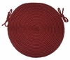 "Braided Hook Collection 15"" Chair Pad Vineyard - Rhody Rug - SYIB-70215CPVI"