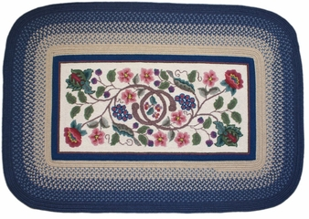 Braided Hook Collection 8'x11' Williamsburg - Rhody Rug - SYIB-902811WB