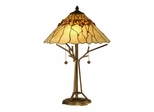 Branch Base Tiffany Table Lamp - Dale Tiffany