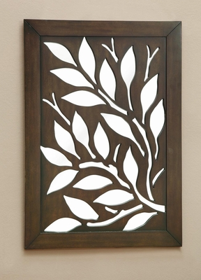 Branch Overlay Mirror with Slide Out Panel - 960600