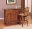 Brandon Bar and Stool Set - Powell Furniture - BRAN-BAR-SET