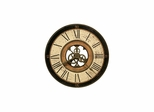 Brass Works Round Gallery Wall Clock - Howard Miller