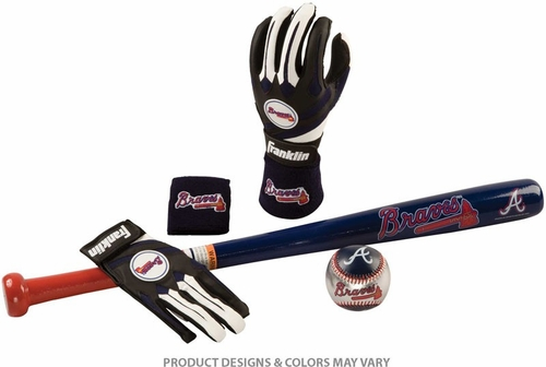 Braves Complete Tee Ball Set - Franklin Sports
