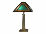 Brea Tiffany Mission Table Lamp - Dale Tiffany