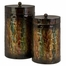 Breen Lidded Cylinders (Set of 2) - IMAX - 12755-2