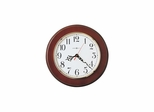 Brentwood Wall Clock in Cherry - Howard Miller