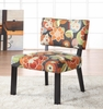 Bright Floral Print Accent Chair - Powell Furniture - 383-936