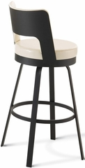 Brock Metal Swivel Bar Stool with Open Back - Amisco - 41435-26