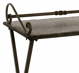 Broderick Granite Serving Table - IMAX - 87165