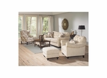 Brooke 4 Piece Upholstered Living Room Set - Largo - LARGO-WG-F1291-SET