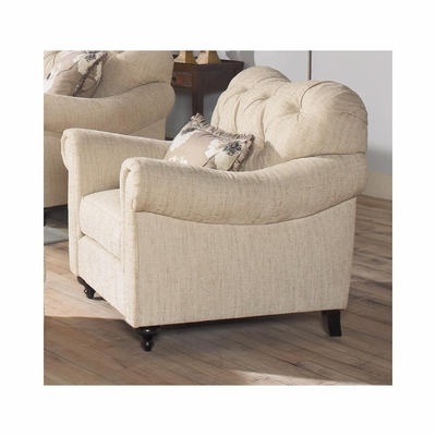Brooke Upholstered Club Chair - Largo - LARGO-ST-F1291-403