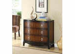 Brown 3 Drawer Accent Cabinet - 950107