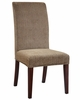 "Brown and Tan Checked Chenille ""Slip Over"" (Fits 741-440 Chair) - Powell Furniture - 741-215Z"