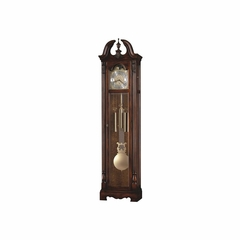 Bryson Hampton Cherry Grandfather Clock - Howard Miller