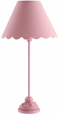 Bubble Gum Pink Table Lamp - Set of 2 - 901473