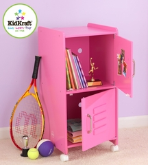 Bubblegum Medium Locker - KidKraft Furniture - 14326