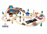 Bucket Top Mountain Train Set in Multi-Color - KidKraft Furniture - 17826