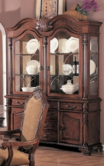 Buffet and Hutch in Antique Brown - Coaster