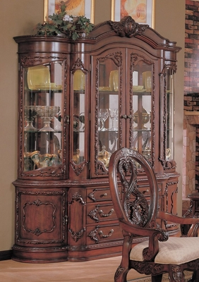 Buffet and Hutch in Cherry - Coaster - COAST-11010241