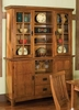 Buffet and Hutch in Cottage Oak - Arts and Crafts - 5180-69-307