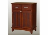Buffet - Cherry Buffet with Cherry Wood Top - Home Styles - 5001-0072