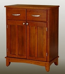 Buffet - Cottage Oak Buffet with Cottage Oak Wood Top - Home Styles - 5001-0066