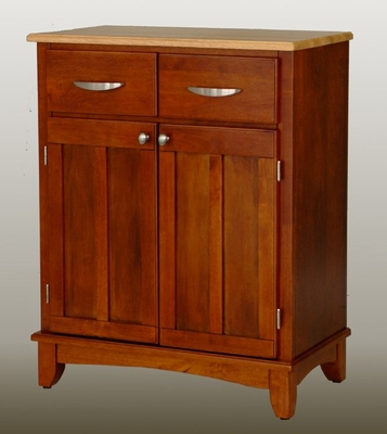 Buffet - Cottage Oak Buffet with Natural Wood Top - Home Styles - 5001-0061