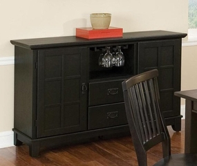 Buffet in Ebony - Arts and Crafts - 5181-69