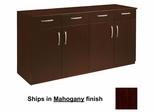 Buffet in Mahogany - Mayline Office Furniture - VBCZMAH