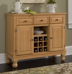 Buffet with Wood Top in Maple - Home Styles - 5300-0091