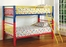 Bunk Bed - 3 Inch Twin / Twin Size Bunk Bed in Multicolor - Coaster