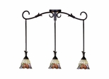 Burbridge 3-Light Mini Pendant - Dale Tiffany