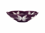 Burgundy Cayman Bowl - Dale Tiffany