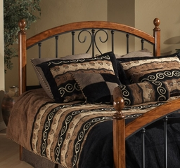 Burton King Size Headboard with Bed Frame - Hillsdale Furniture - 1258HKR