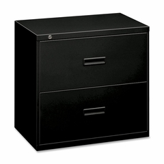 Bush Lateral File Cabinet - Black - BSX482LP