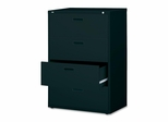 Bush Lateral File Cabinet - Black - LLR60560