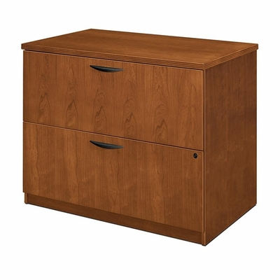 Bush Lateral File Cabinet - Bourbon Cherry - BSXBW2170HH