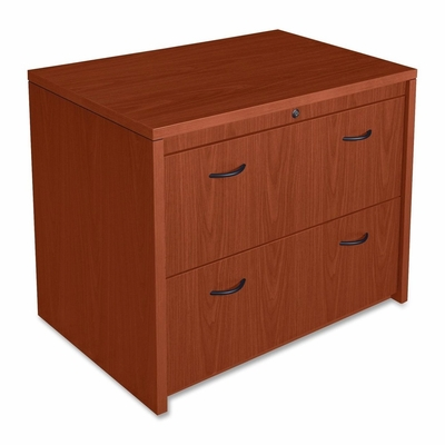 Bush Lateral File Cabinet - Cherry - LLR68596
