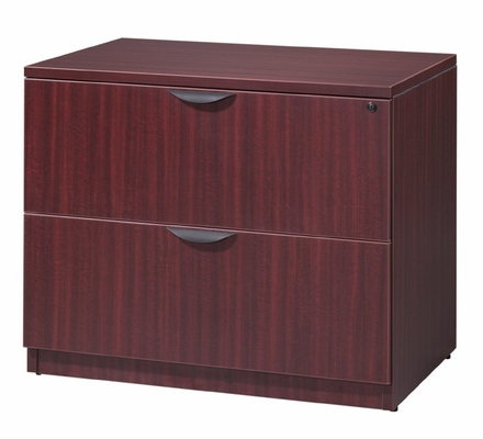 Bush Lateral File Cabinet - Legacy Laminate - LPLF3624
