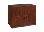 Bush Lateral File Cabinet - Mahogany - LLR69399