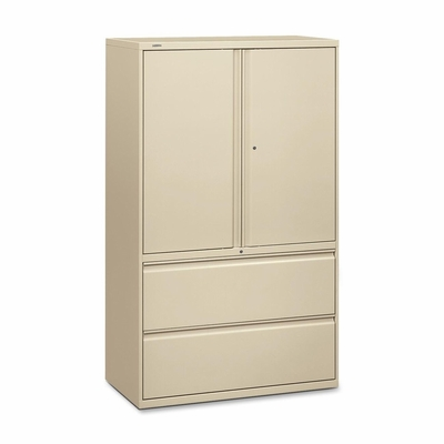 Bush Lateral File Cabinet - Putty - HON895LSL