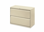 Bush Lateral File Cabinet - Putty - LLR60438
