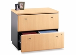 Bush Lateral File Cabinet - Series A Beech Collection - WC14354A